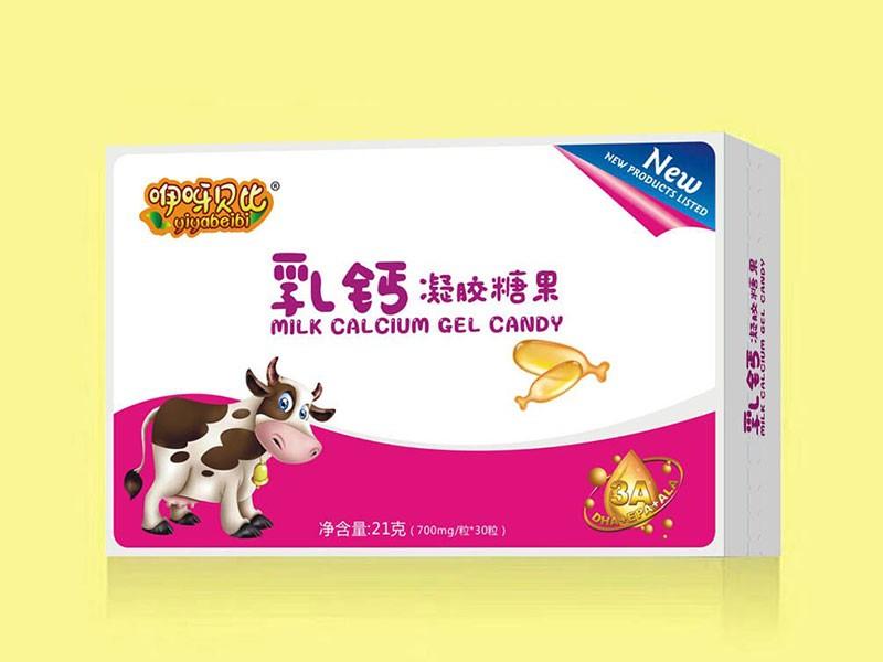 乳钙凝胶糖果
