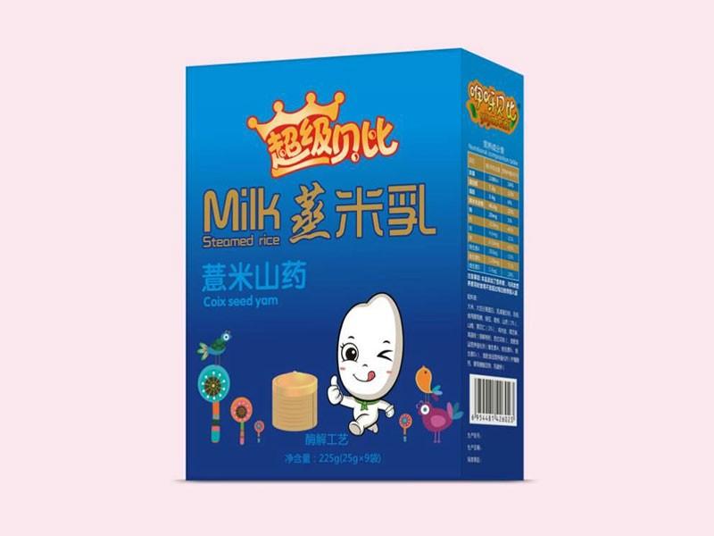 薏米山药蒸米乳