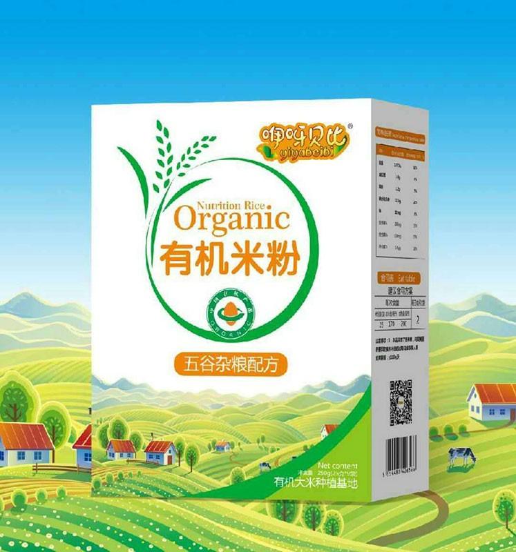 五谷杂粮配方有机米粉