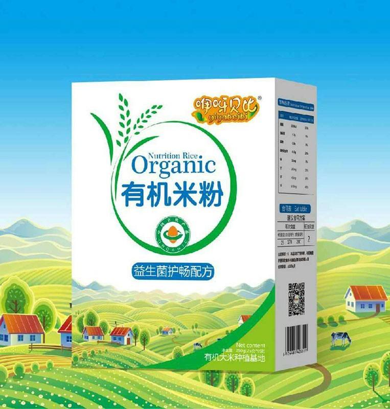 益生菌护畅配方有机米粉