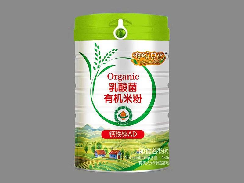 钙铁锌AD乳酸菌有机米粉