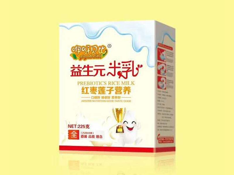 红枣莲子营养益生元米乳