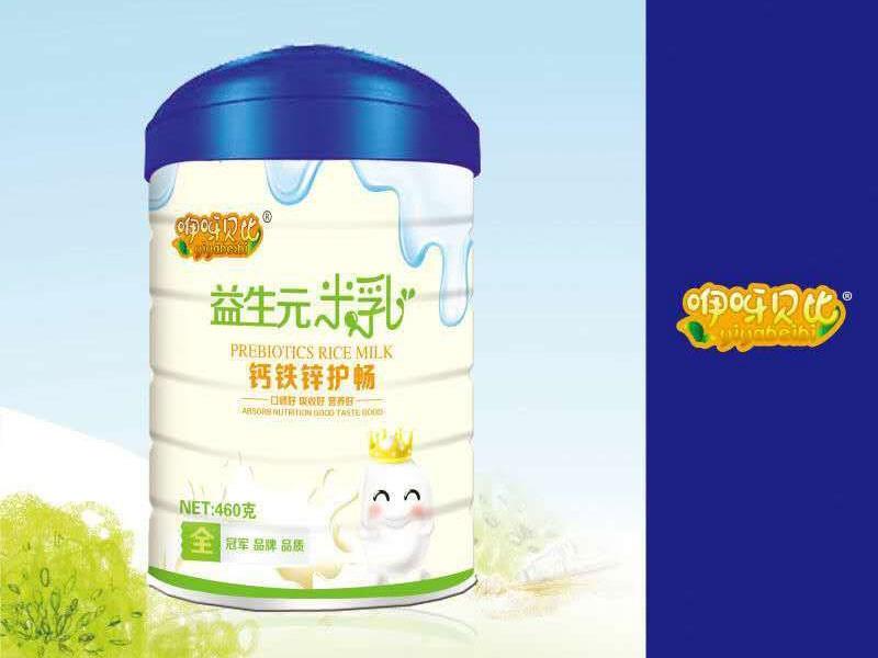 钙铁锌护畅益生元米乳