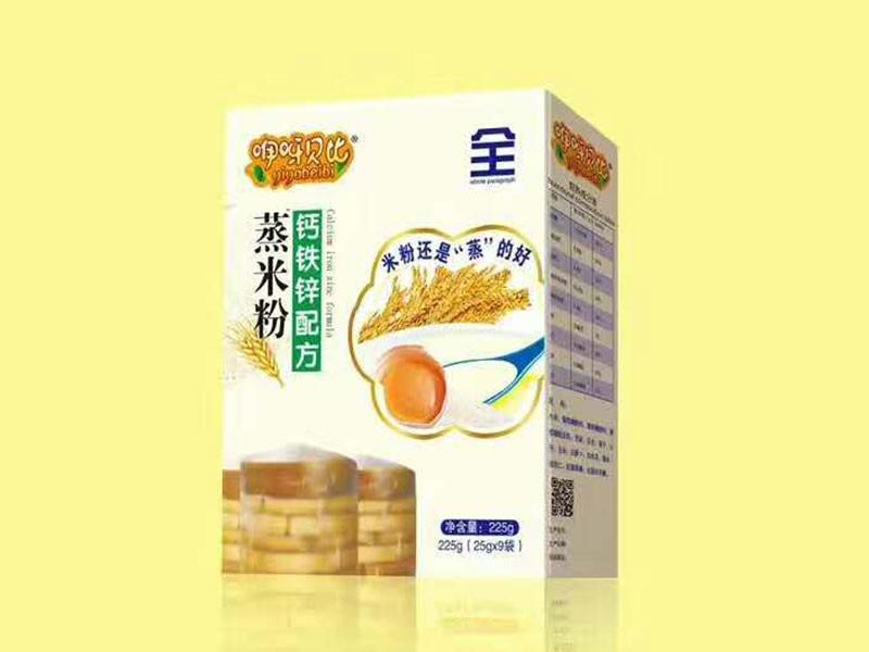 钙铁锌配方蒸米粉