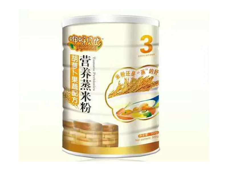 胡萝卜果蔬配方营养蒸米粉